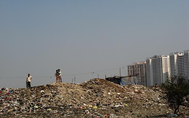 The Antop Hill Slum in Mumbai